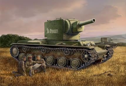 KV-2 TANK 1/48