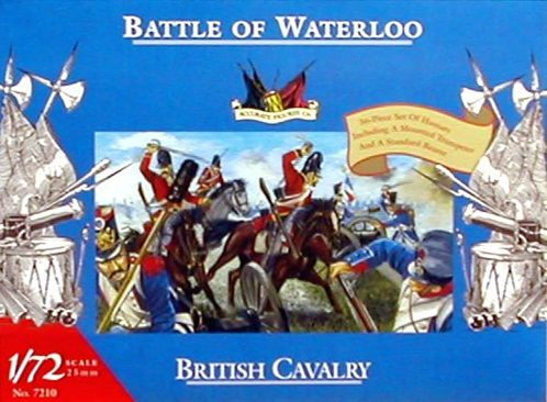 BRITISH CAVALRY 1/72 BATTLE OF WATERLOO