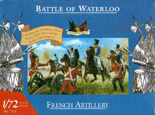 FRENCH ARTILLERY 1/72 BATTLE OF WATERLOO