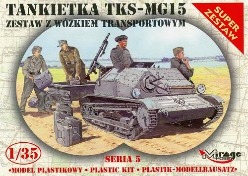 TKS-MG15 VEHICLE + TRAILER 1/35 35515