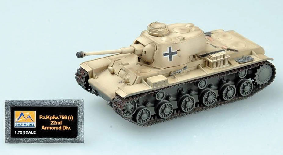 PZ.KPFW.756(R) 22ND ARMORED DIV. 1/72