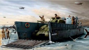 WWII US NAVY LCM (3) LANDING CRAFT 1/35