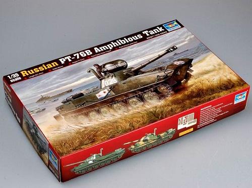 RUSSIAN PT-76B AMPHIBIUS TANK 1/35
