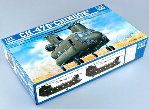 CH-47D CHINOOK 1/35 5105 TRUMPETER