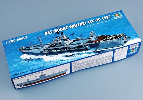 USS MOUNT WHITNEY LCC-20 1997 1/700 5719 TRUMPETER