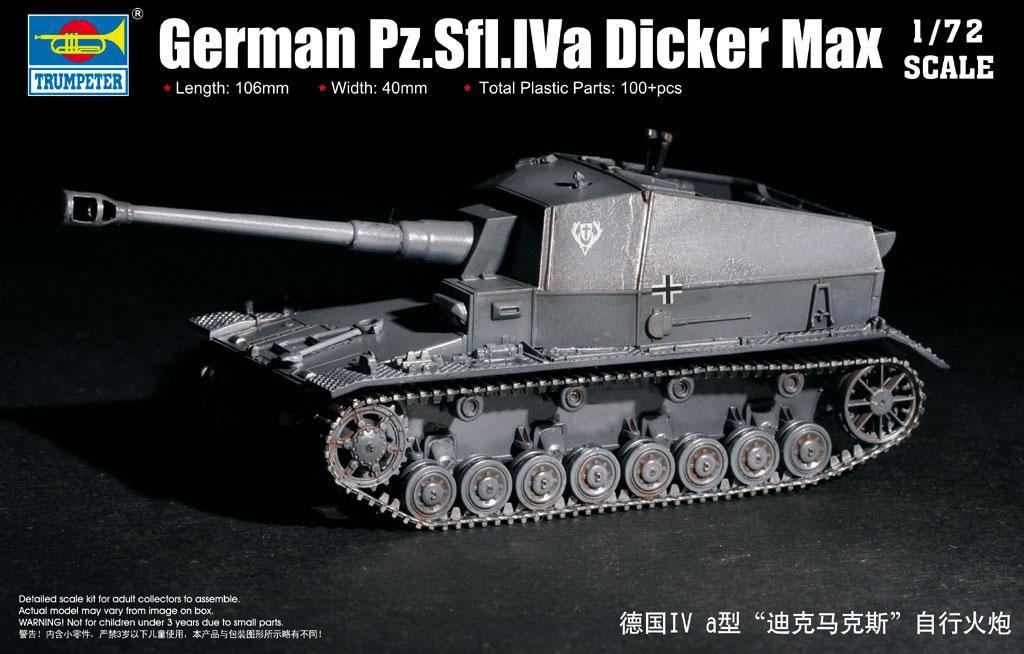 GERMAN PZ.SFL.IVA DICKER MAX 1/72