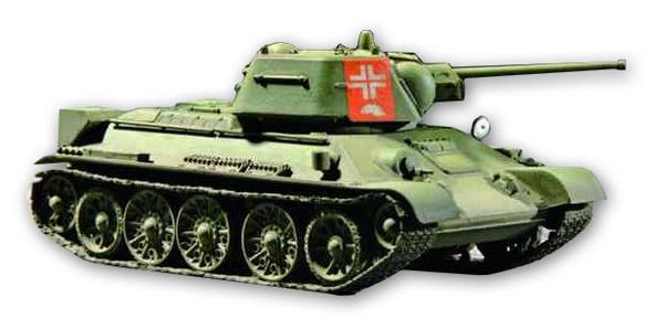 T-34/76 1943 1/72