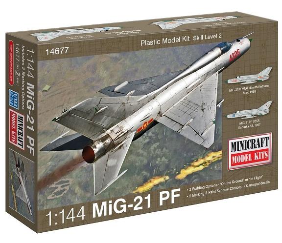 MIG-21 PF 1/144