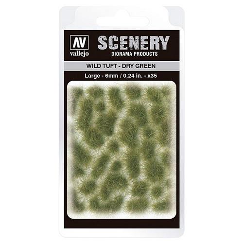 WILD TUFT DRY GREEN VALLEJO SCENERY SC415