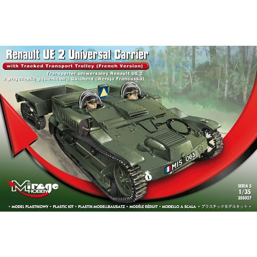 RANULT UE2 WITH TROLLEY FRENCH 1/35 MIRAGE 355027