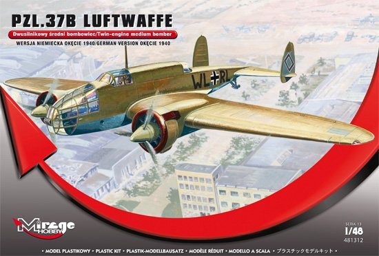 PZL.37B LUFTWAFFE OKEICE 1940 1/48 481312