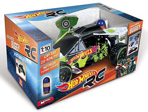 BUGGY R/C 1/10 NITROS TURBO SPEED HOT WHEELS OFERT