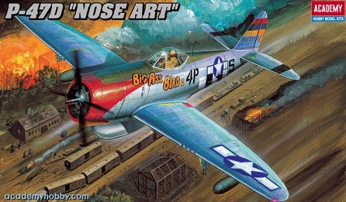 P-47D NOSE ART 1/48 2211 ACADEMY