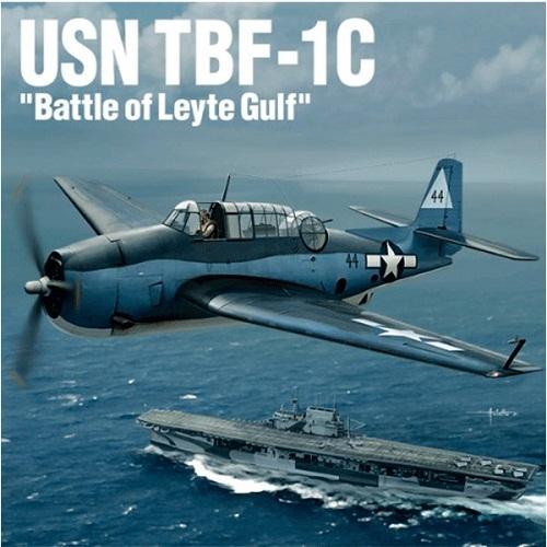 AVION USN TBF-1C BATTLE OF LEYTE GULF 1/48 12340