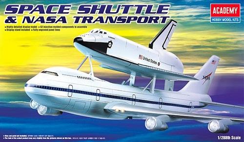 SPACE SHUTTLE & TRANSPORT 1/288 12708 ACADEMY