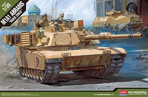 M1A1 ABRAMS IRAQ 2003 1/35 13202 ACADEMY