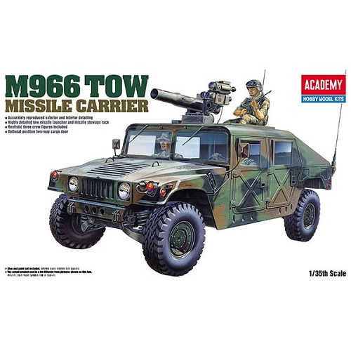 M966 TOW MISSILE CARRIER 1/35 13250 ACADEMY