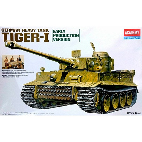 TIGER I WWII EARLY PRODUCTION 13264 ACADEMY
