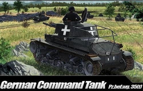 GERMAN COMMAND TANK PZ.BEFWG. 35(T) 1/35