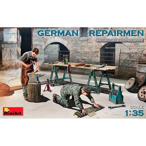GERMAN REPAIRMEN 1/35 35353 MINIART