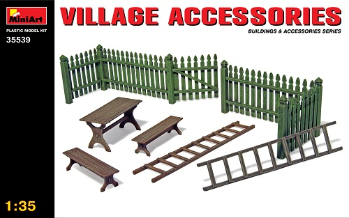 VILLAGE ACCESSORIES 1/35 35539 MINIART