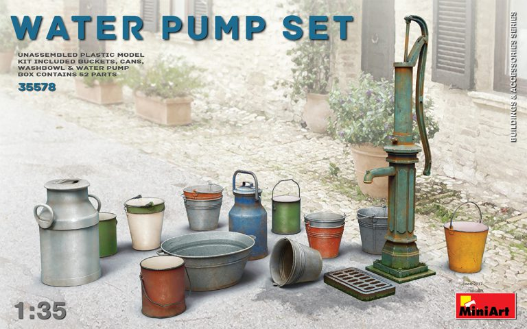 WATER PUMP SET 1/35 35578 MINIART