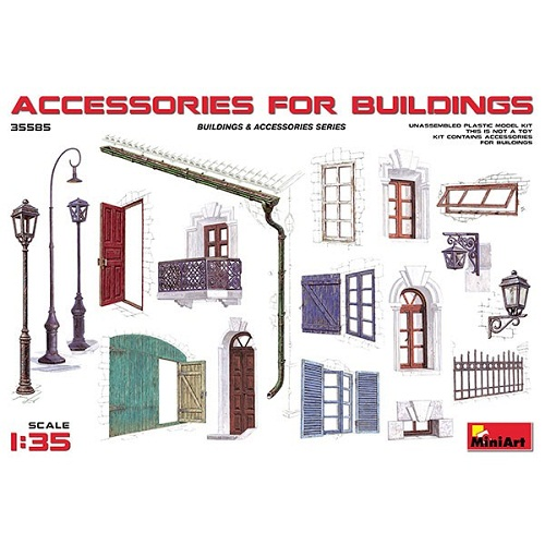 ACCESSORIES FOR BUILDINGS 1/35 35585 MINIART