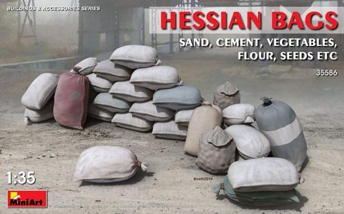 ACCESORIOS HESSIAN BAGS 1/35 35586 MINIART