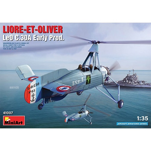 LIORE ET OLIVER LEO C30A EARLY 1/35 MINIART 41007