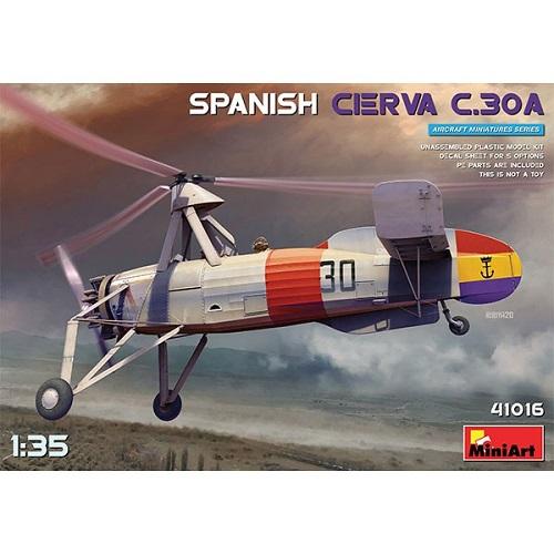 SPANISH CIERVA C.30A 1/35 41016 MINIART