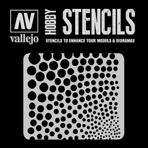 STENCIL TEXTURAS CIRCULARES ST-SF002