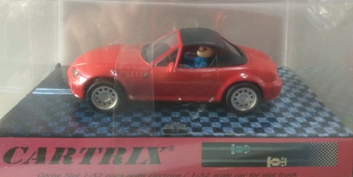 BMW Z-3 ROADTER SOFT TOP ROJO