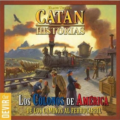 COLONOS DE AMERICA. CATAN HISTORIAS