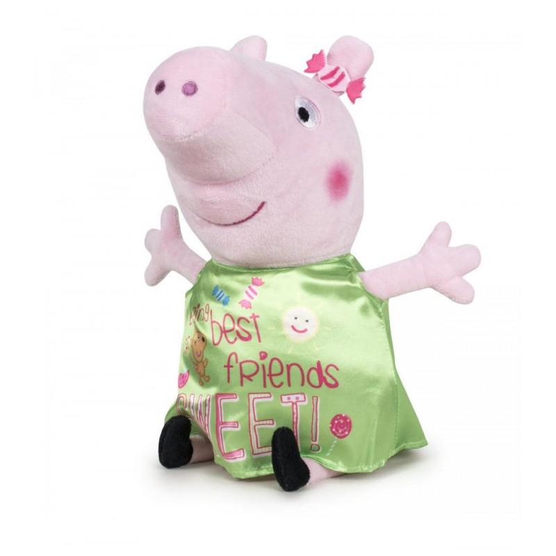 PELUCHE PEPPA PIG HAPPY ONIK 30CM.