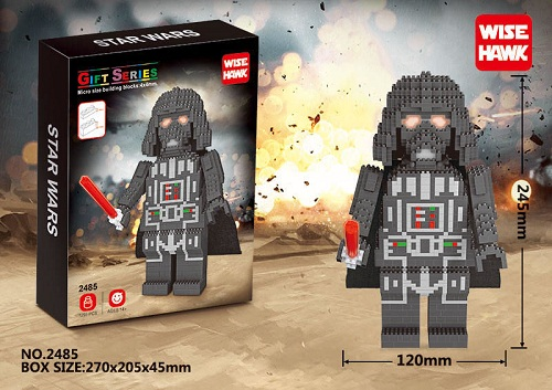 STAR WARS DARTH VADER 2485 1295PCS.