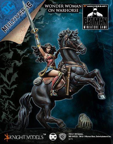 WONDER WOMAN ON WAR HORSE