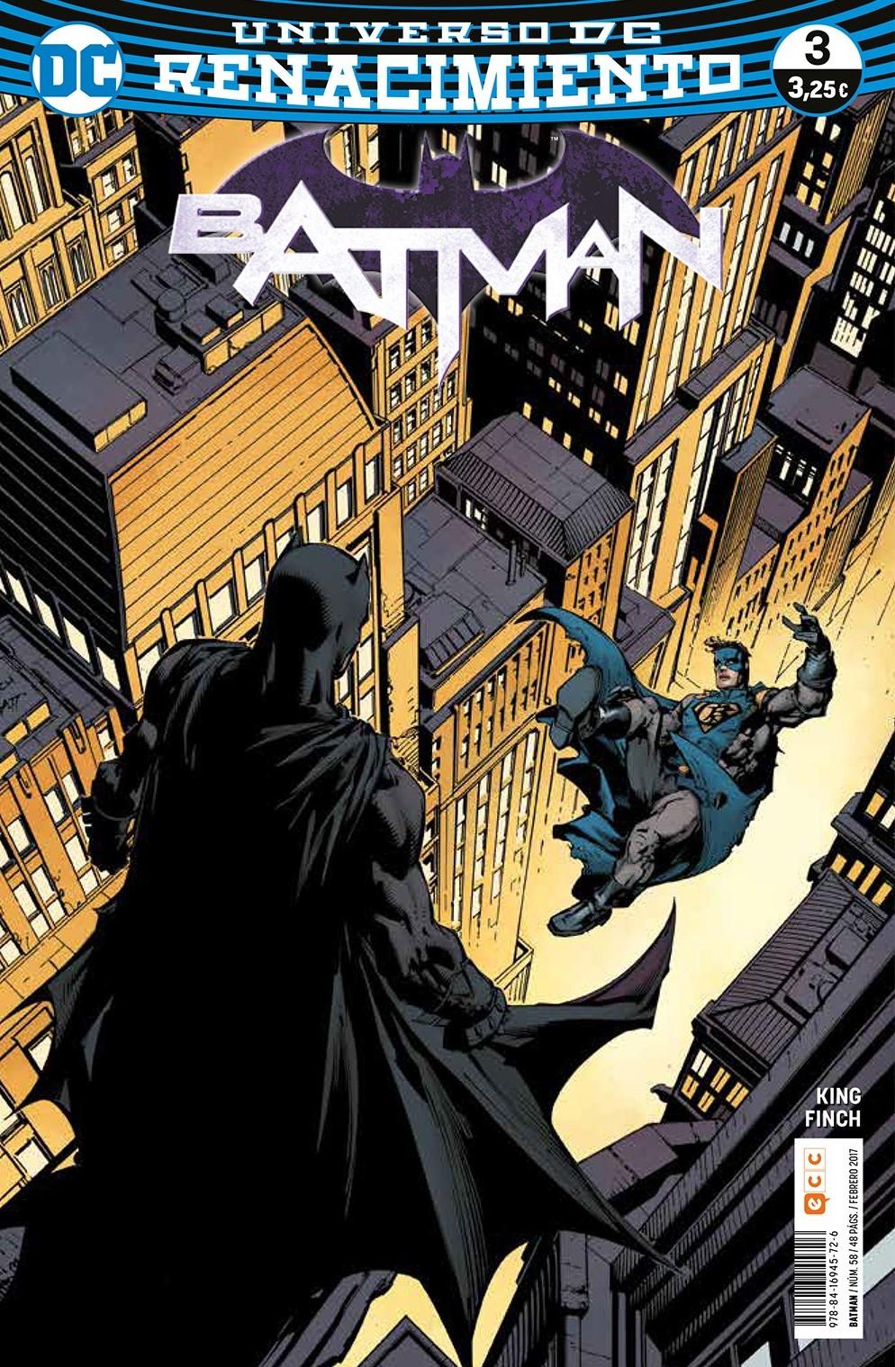 BATMAN 58/3 (RENACIMIENTO)