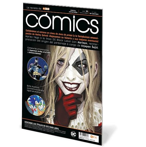 ECC COMICS 14 (REVISTA) - ESPECIAL AVES DE PRESA