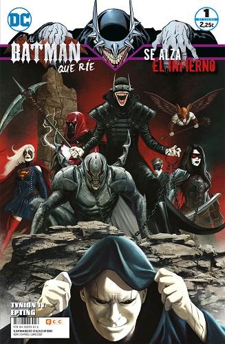 BATMAN QUE RIE: SE ALZA EL INFIERNO 01 (D4)