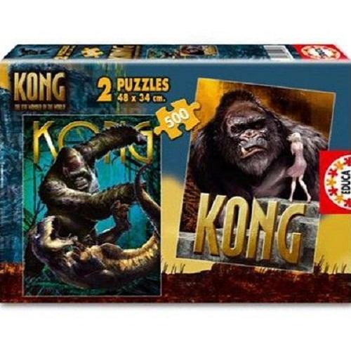 KING KONG PUZZLE 2X500