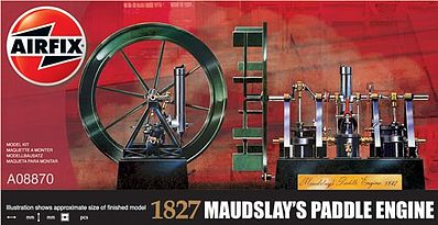 MAUDSLEY PADDLE STEAMER ENGINE 1827