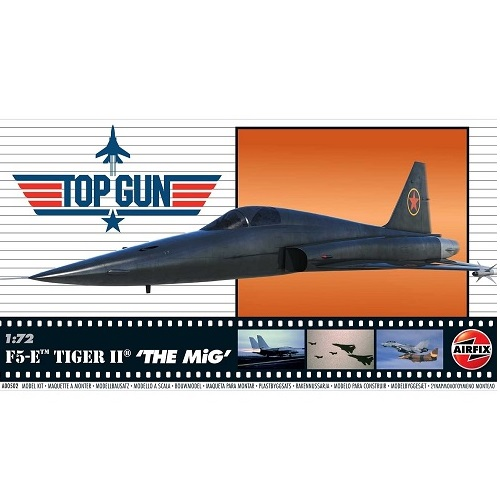 TOP GUN F5-E TIGER II THE MIG 1/72 A00502 AIRFIX
