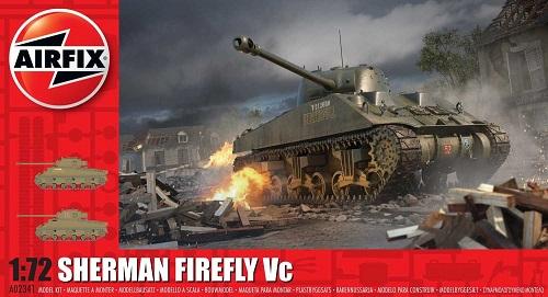 SHERMAN FIREFLY VC 1/72 A02341 AIRFIX