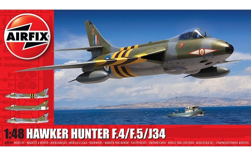 HAWKER HUNTER F4/F5/J34 1/72 A09189 AIRFIX