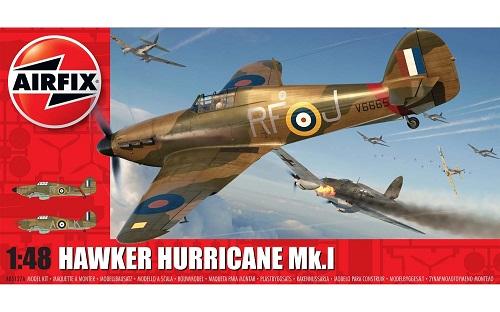 HAWKER HURRICANE MK.I 1/48 A05127A AIRFIX