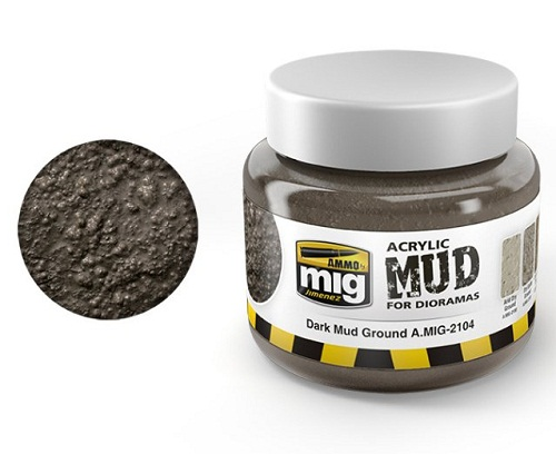 DARK MUD GROUND 250ML.