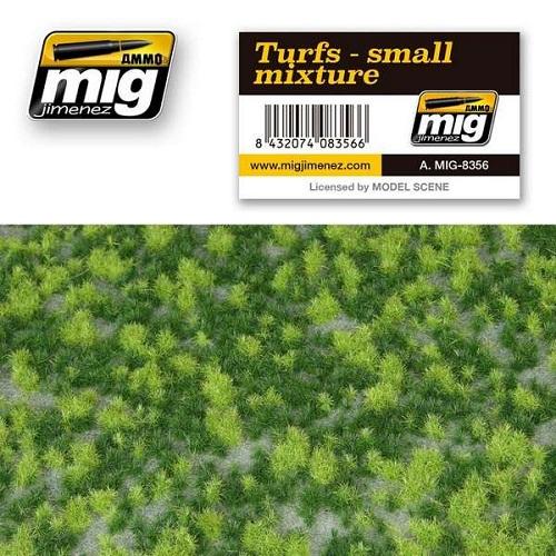 TURFS SMALL MIXTURE 22,5X12,5CM.