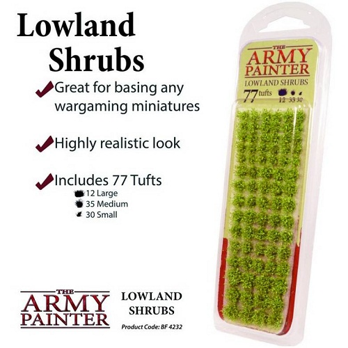 LOWLAND SHRUBS (77) BF4232