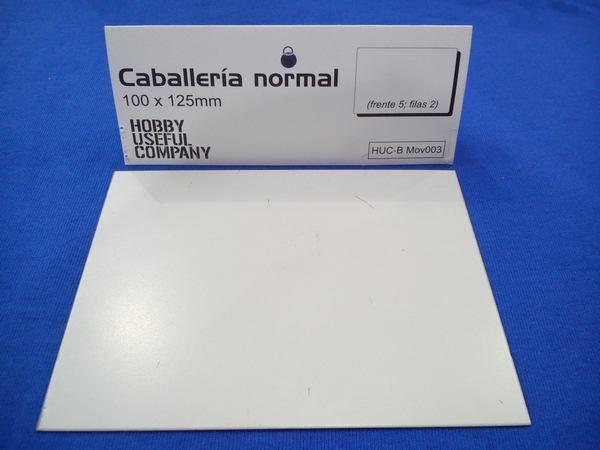 BANDEJA DE MOVIMIENTO DE ACERO INOXID. 100X125MM.