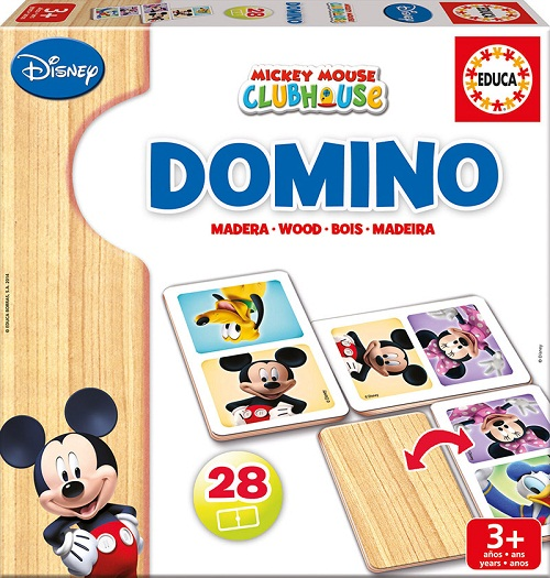 DOMINO MADERA MICKEY/MINNIE 16037 EDUCA